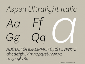 Aspen Ultralight