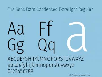 Fira Sans Extra Condensed ExtraLight