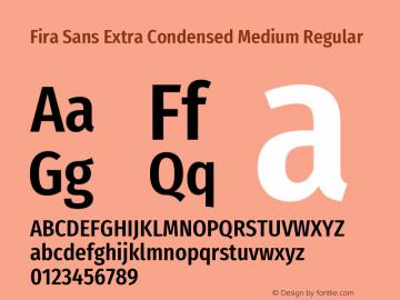 Fira Sans Extra Condensed Medium