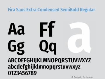 Fira Sans Extra Condensed SemiBold