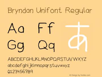 Bryndan Unifont