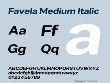Favela Medium