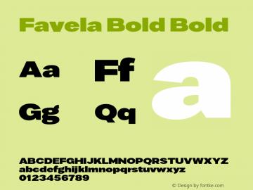 Favela Bold