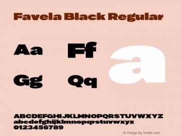 Favela Black