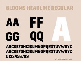 Blooms Headline