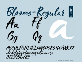 Blooms-Regular