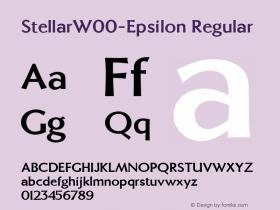 Stellar-Epsilon