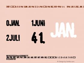 LinotypeTagesstempel-Fett