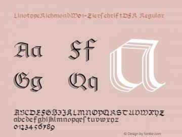 LinotypeRichmond-ZierschriftDFR