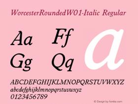 WorcesterRounded-Italic