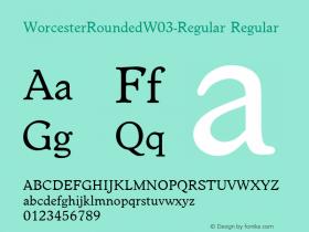 WorcesterRounded-Regular