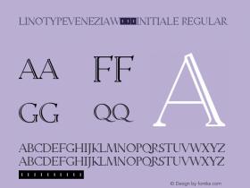 LinotypeVenezia-Initiale