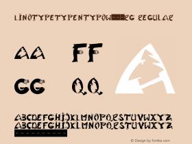 LinotypeTypentypo-Rg