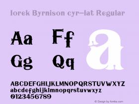 Iorek Byrnison cyr-lat