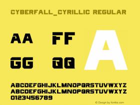 Cyberfall_Cyrillic