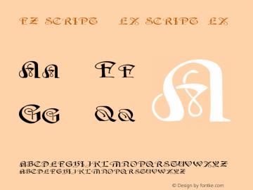 FZ SCRIPT 14 EX