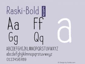 Raski-Bold