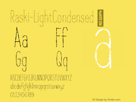 Raski-LightCondensed