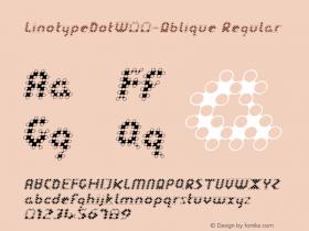 LinotypeDot-Oblique