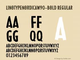 LinotypeNordica-Bold