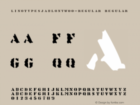 LinotypeSjablony-Regular