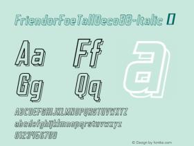 FriendorFoeTallDecoBB-Italic