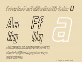 FriendorFoeTallOutlineBB-Italic