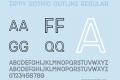 Zippy Gothic Outline