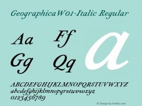 Geographica-Italic