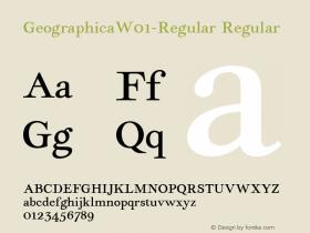 Geographica-Regular