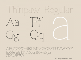 Thinpaw