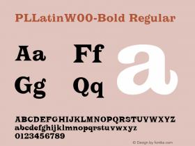 PLLatin-Bold