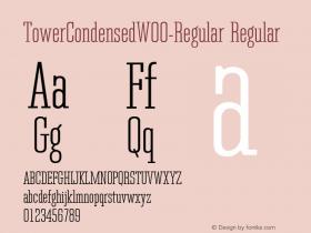 TowerCondensed-Regular