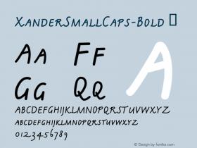 XanderSmallCaps-Bold