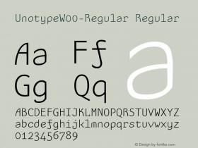 Unotype-Regular