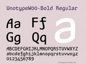 Unotype-Bold