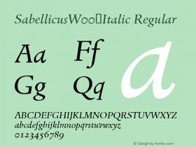 Sabellicus-Italic