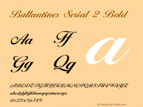 Ballantines Serial 2
