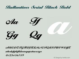 Ballantines Serial Black