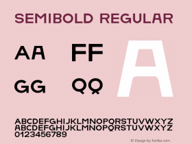 SemiBold