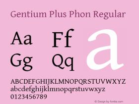Gentium Plus Phon