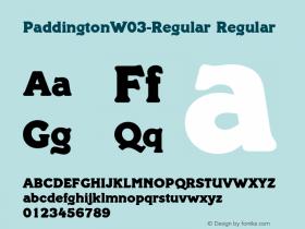 Paddington-Regular