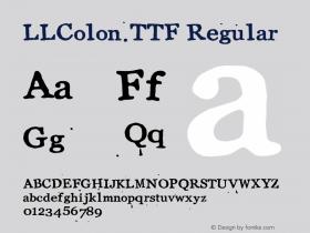 LLColon.TTF