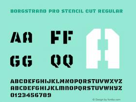 Borgstrand Pro Stencil Cut