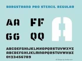 Borgstrand Pro Stencil