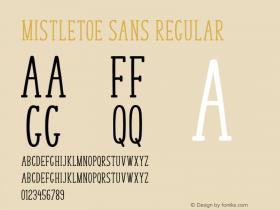 Mistletoe Sans
