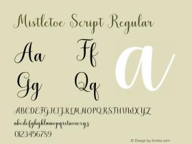 Mistletoe Script