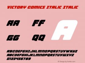 Victory Comics Italic