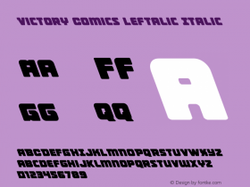 Victory Comics Leftalic