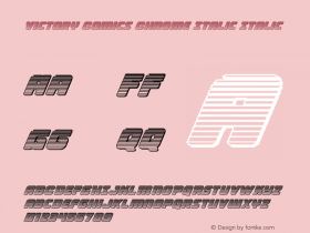 Victory Comics Chrome Italic